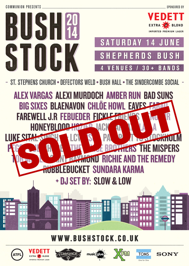 Bushstock Festival 2014 SOLD OUT